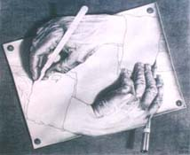M.C. Escher - Drawing Hands